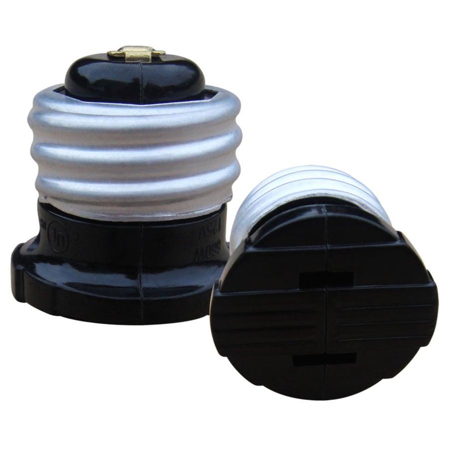 to lamp light items extender portfolio adapter bulb mengsled mengs led lighting socket holder