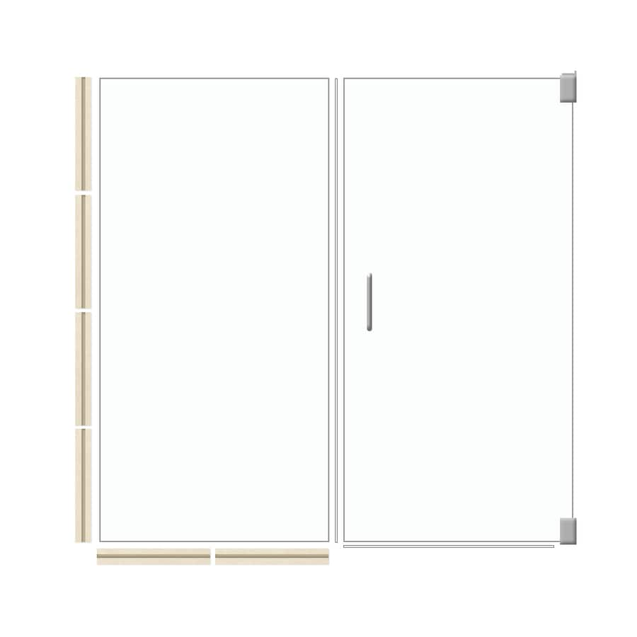 American Bath Factory 70-in H x 41.5-in W Sonoma Shower Glass Panel