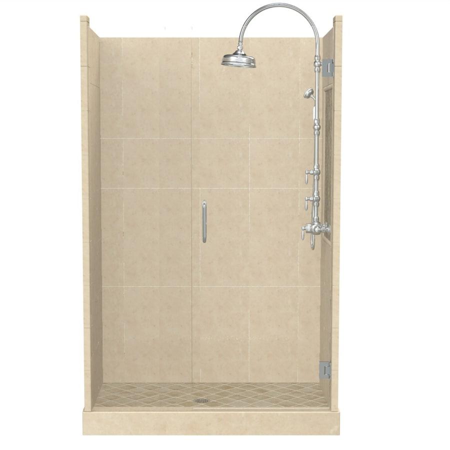 Shop American Bath Factory Panel Medium Fiberglass and Plastic ...