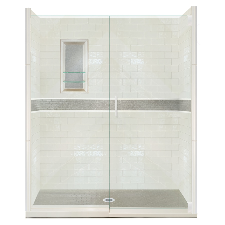 American Bath Factory Chelsea 29 Piece Alcove Shower Kit (Common: 30 In