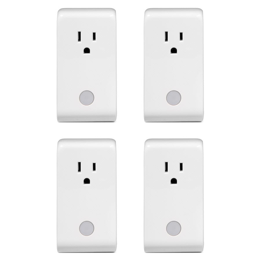 Iris 4-Pack 110-Volt White Smart Plugs