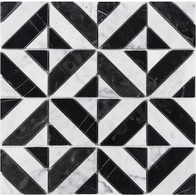 Black And White Tile At Lowes