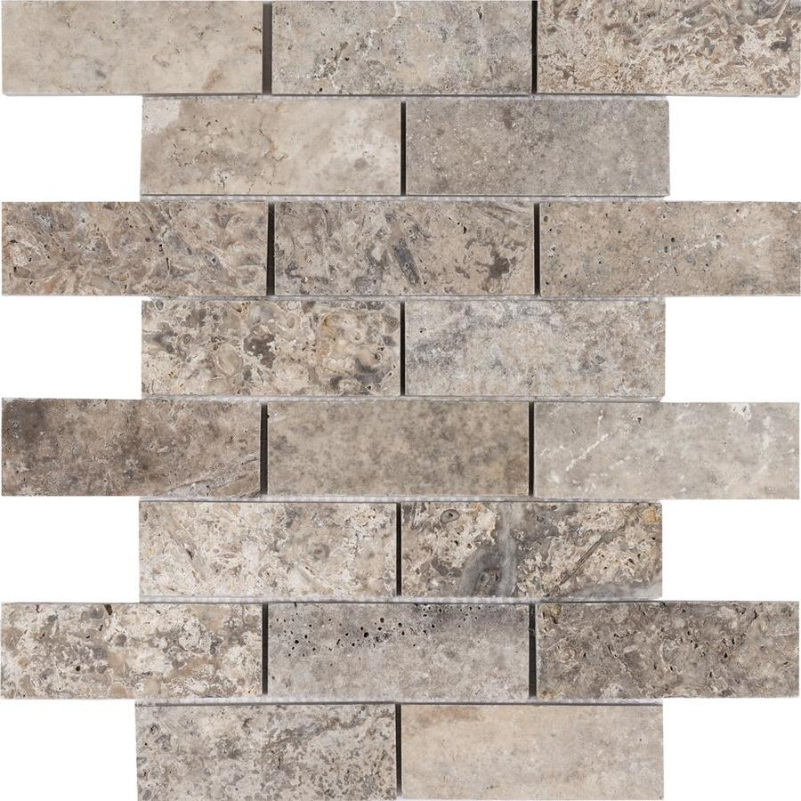 Gray Brick Look Tile At Lowes Com