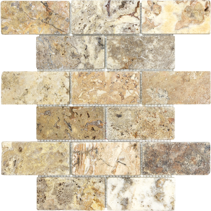 shop anatolia tile scabos tumbled tumbled natural stone