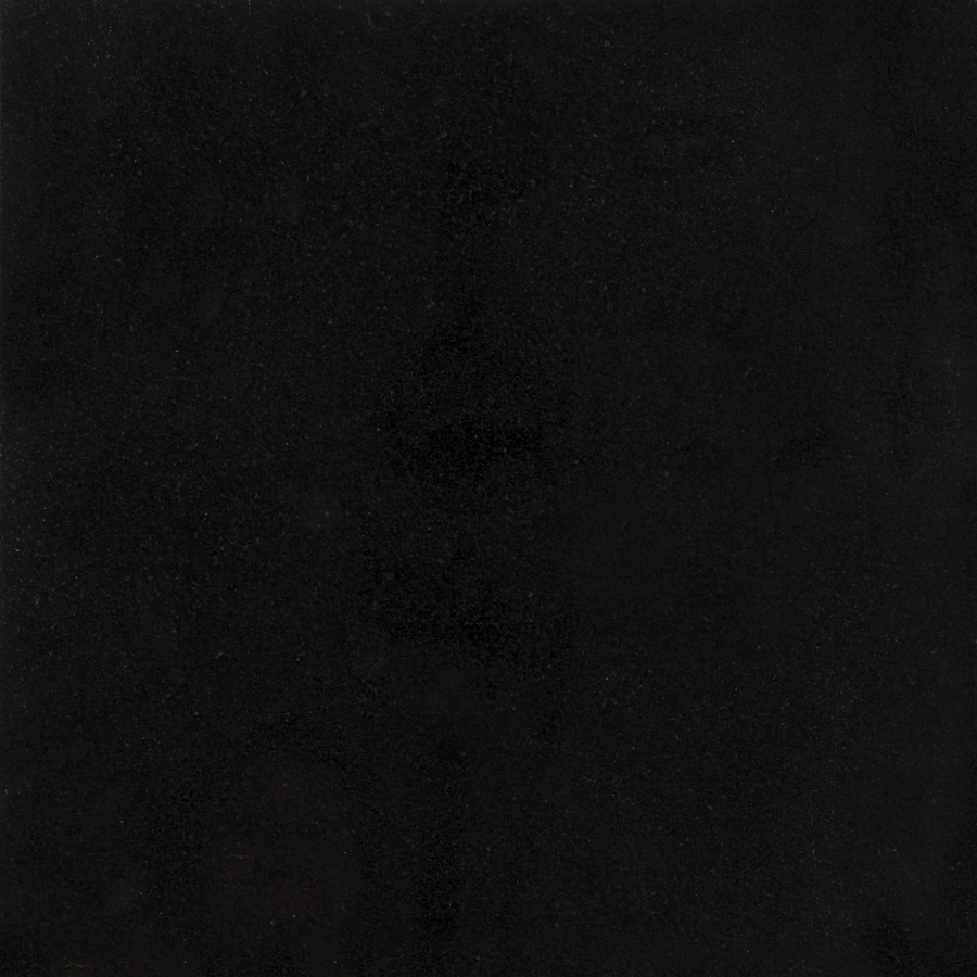 Shop Anatolia Tile Absolute Black Granite Floor And Wall Tile Common 12 In X 12 In Actual 12