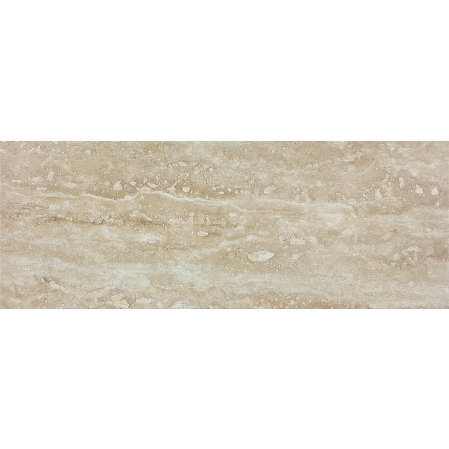 Shop anatolia tile walnut travertine wall tile common 3 in x 8 anatolia tile walnut travertine wall tile common 3 in x 8 in dailygadgetfo Gallery