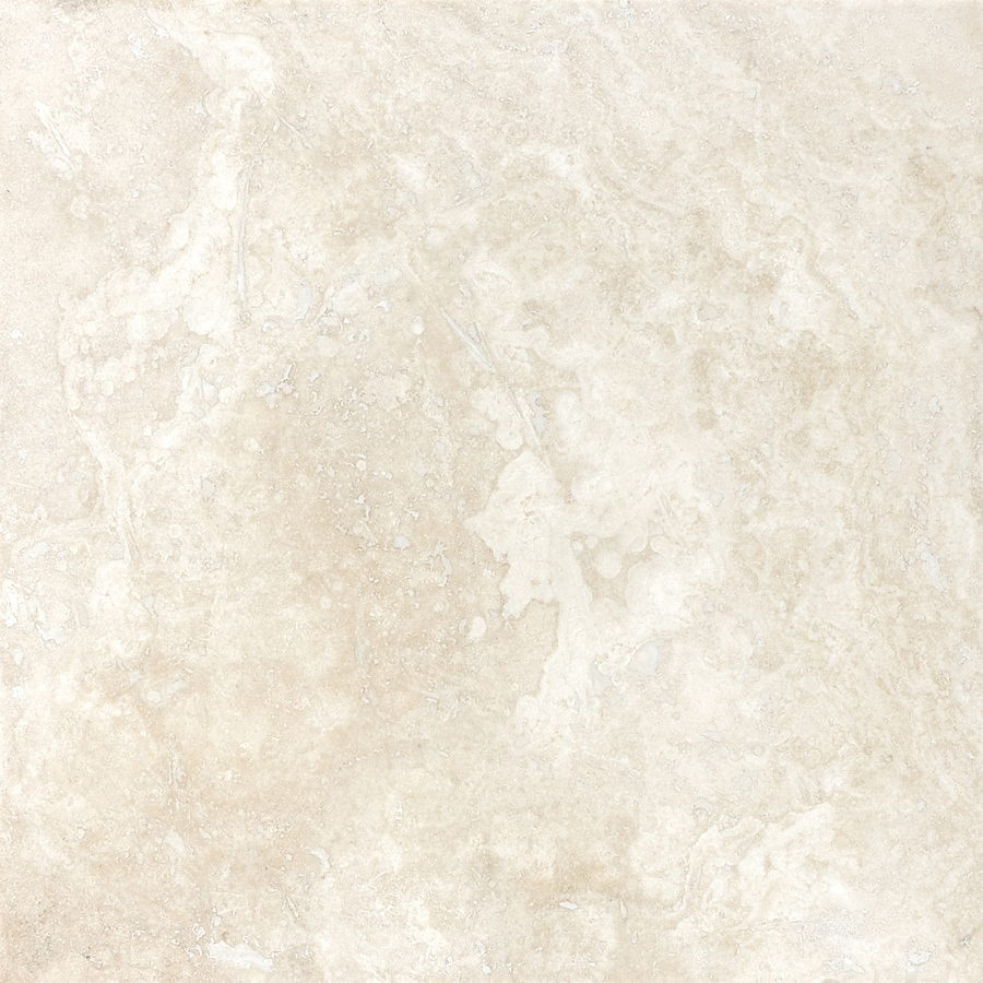 Shop allen roth ivory travertine floor and wall tile common 12 allen roth ivory travertine floor and wall tile common 12 in x doublecrazyfo Choice Image