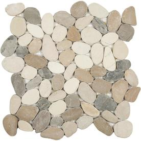 Anatolia Tile Sunset Impressions Pebble Mosaic Wall Common 12 In X