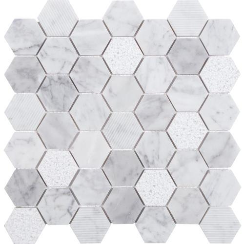 Anatolia Tile Carrara 12 In X