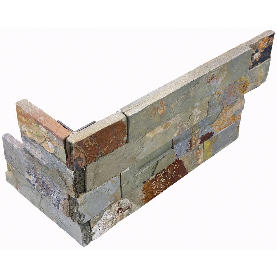 Anatolia Tile 6 Pack Oxide Ledgestone Corner 6 In X 18 In
