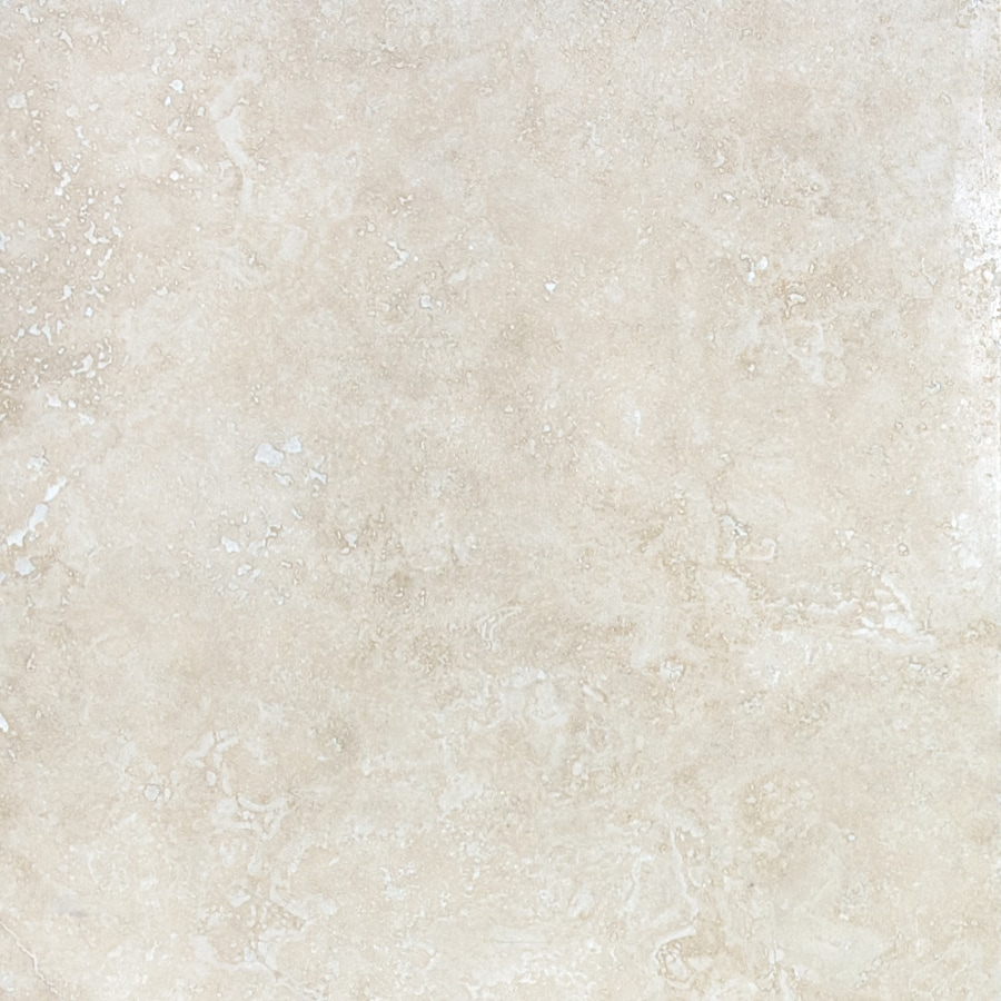 Anatolia Tile Ivory 18 In X 18 In Travertine Floor Tile
