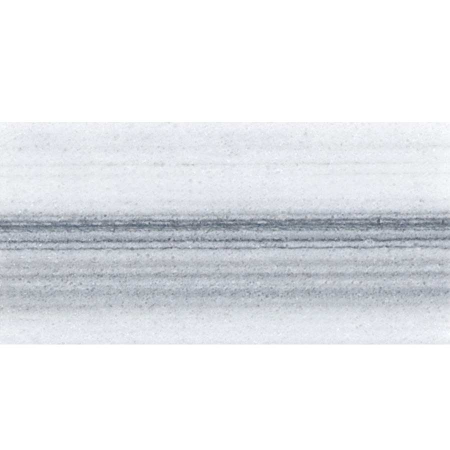 Anatolia Tile 44-Pack Polished Annex Grigio Marble Floor and Wall Tile (Common: 3-in x 6-in; Actual: 2.95-in x 5.9-in)