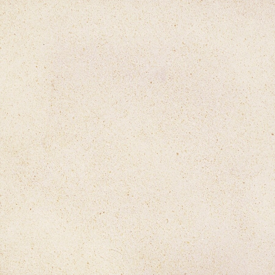 Anatolia Tile 8-Pack Serene Ivory Limestone Floor and Wall Tile (Common: 12-in x 12-in; Actual: 12-in x 12-in)