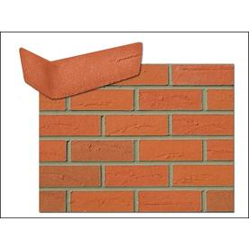 Flexi Brick 2.625 In X 11.125 In Firehouse Red Individual Piece Brick Veneer