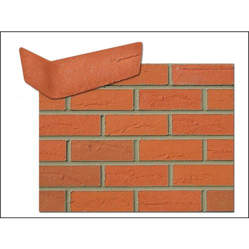 Flexi Brick Firehouse Red 2 625 In X 11 125 In Individual Piece Brick Veneer In The Brick Veneer