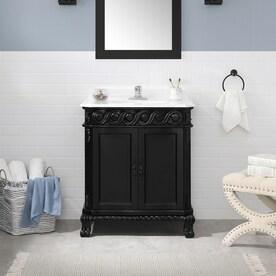 Black Bathroom Vanities At Lowes Com