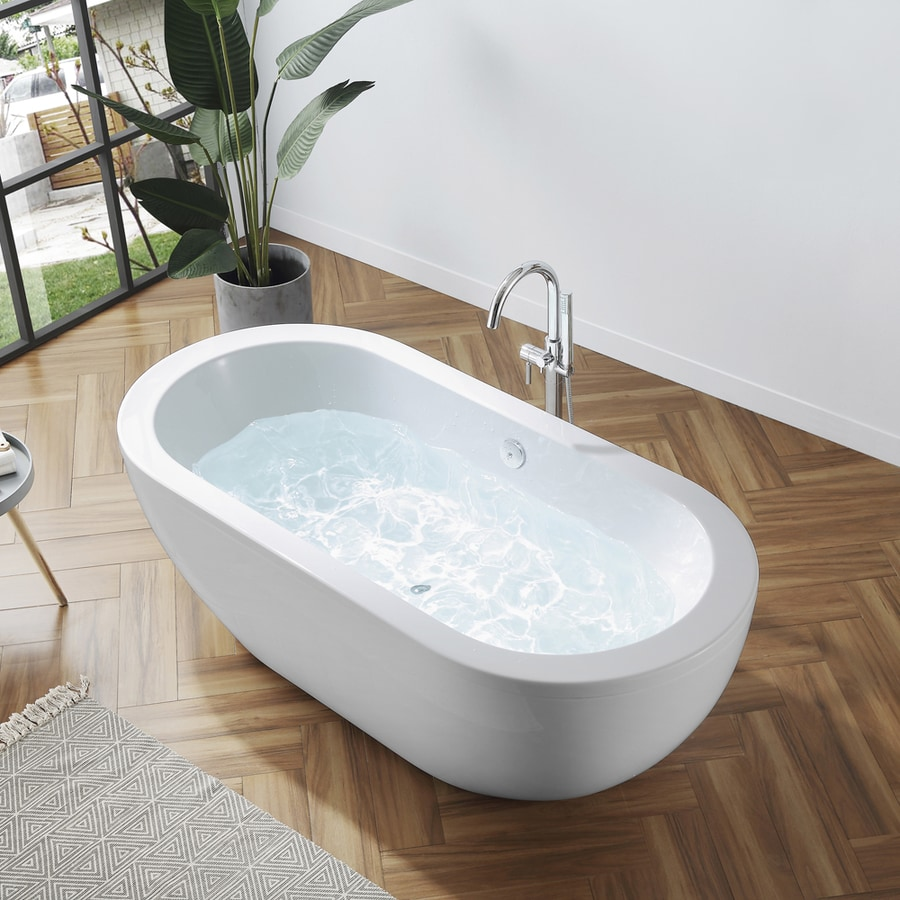 bathtub bathtubs aquatica freestanding wht products acrylic main web purescape