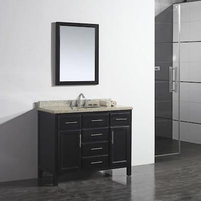 Super Ove Decors Malibu 42 In Dark Espresso Single Sink Bathroom Download Free Architecture Designs Scobabritishbridgeorg