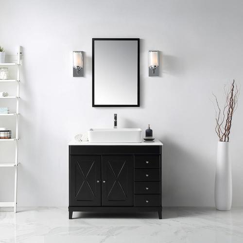 OVE Decors Aspen 40-in Espresso Single Sink Bathroom ...