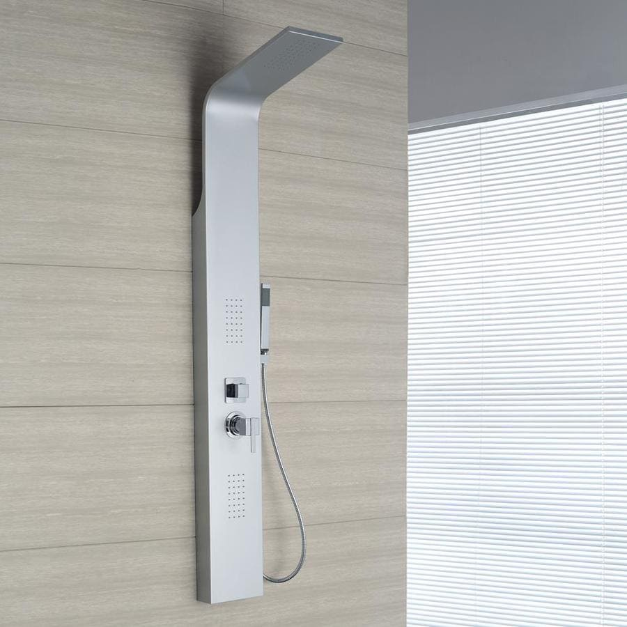 OVE Decors 3-Way Silver Shower Panel System
