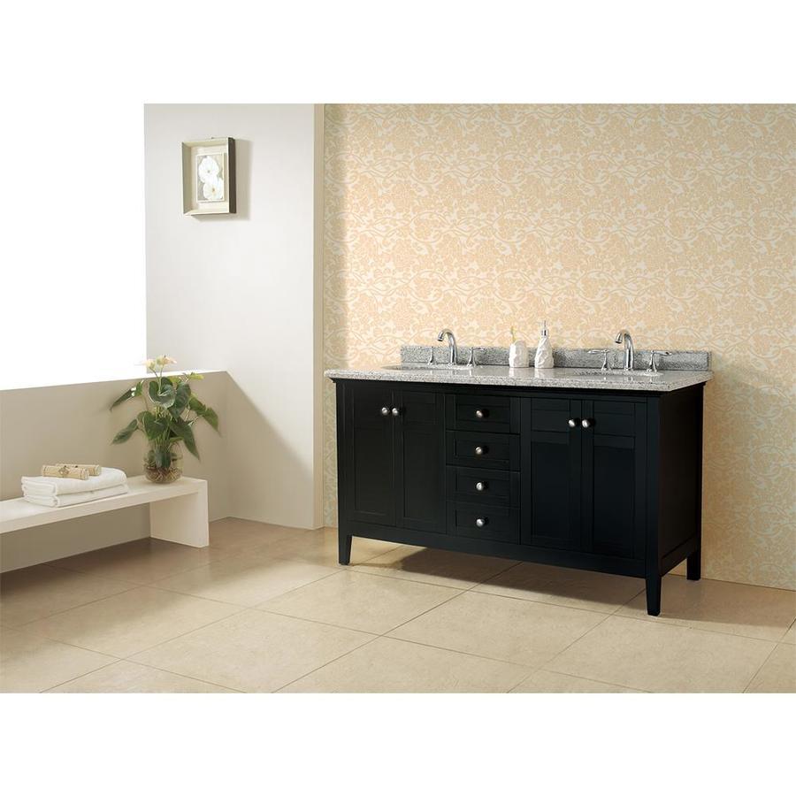 Shop OVE Decors Reni Dark Espresso Undermount Double Sink Bathroom Vanity Wit