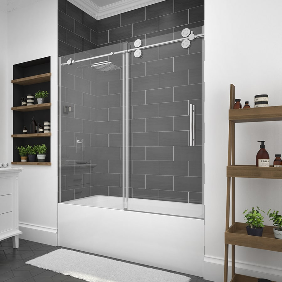 decorating reference door glass in plans half design shower land bathtub bathroom for with