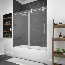 OVE Decors Sydney 59.5 In W X 59 In H Bathtub Door