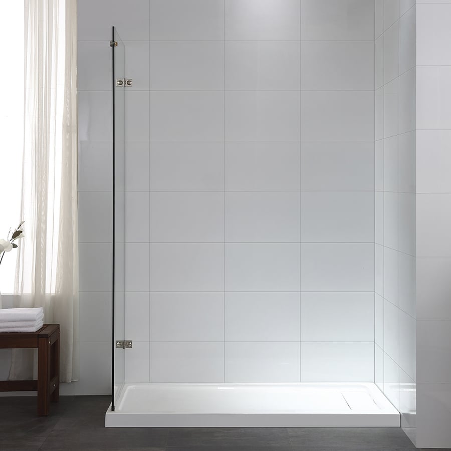 OVE Decors Sydney 78.75-in H x 30.25-in W Clear Shower Glass Panel
