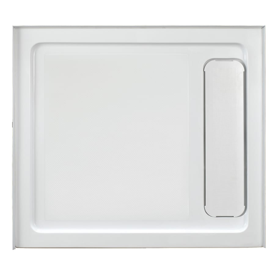 OVE Decors White Acrylic Shower Base (Common: 32-in W x 36-in L; Actual: 32.0-in W x 36.0-in L)