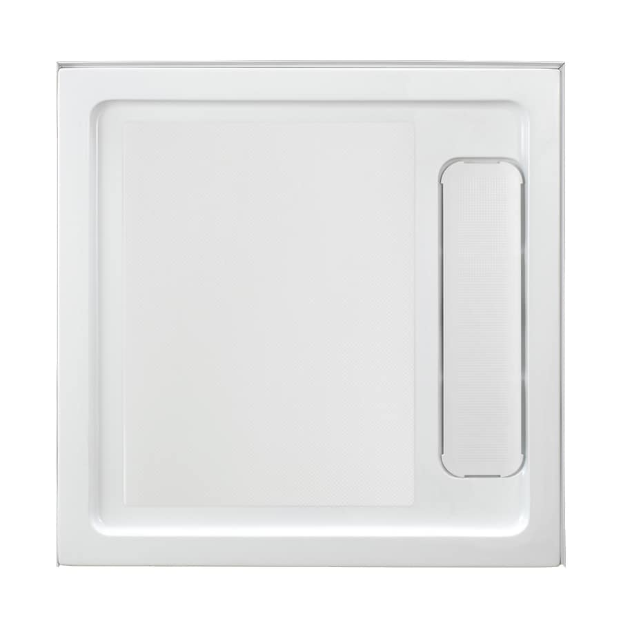 OVE Decors White Acrylic Shower Base (Common: 36-in W x 36-in L; Actual: 36-in W x 36-in L)