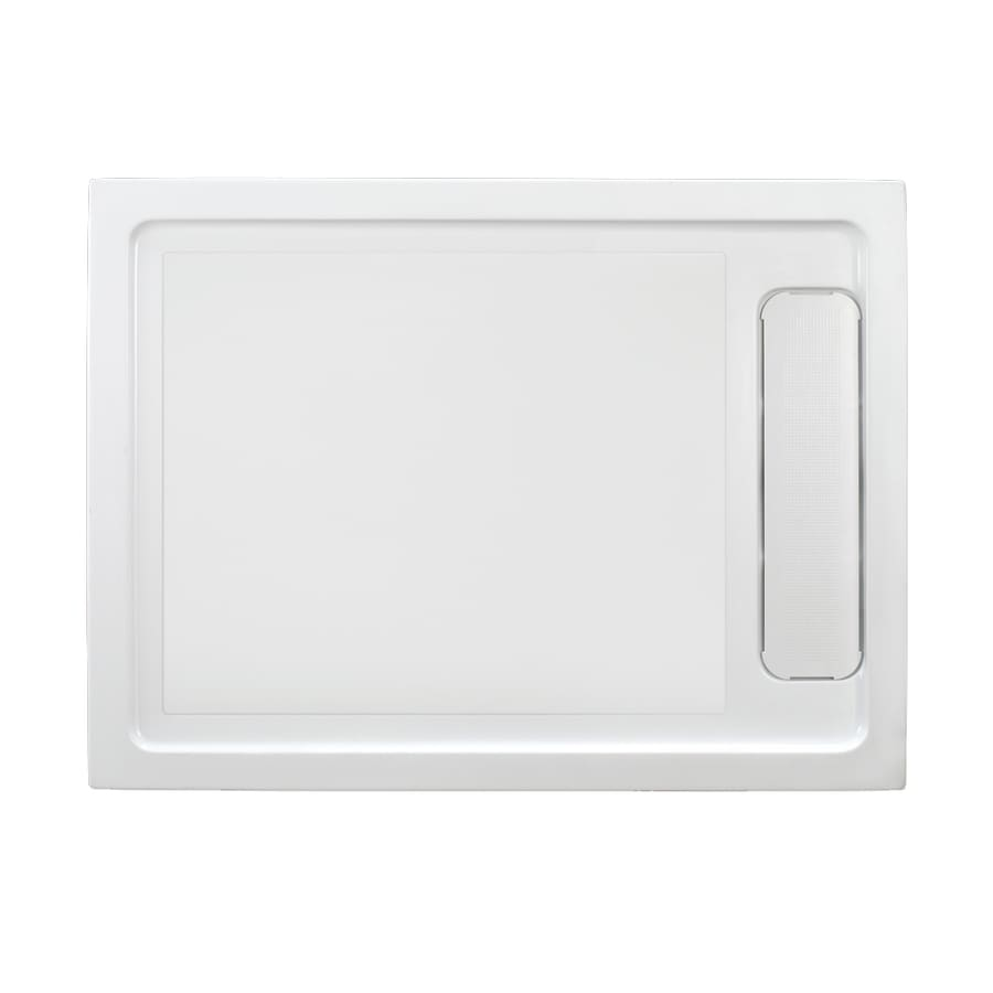OVE Decors White Acrylic Shower Base (Common: 32 In W X 48