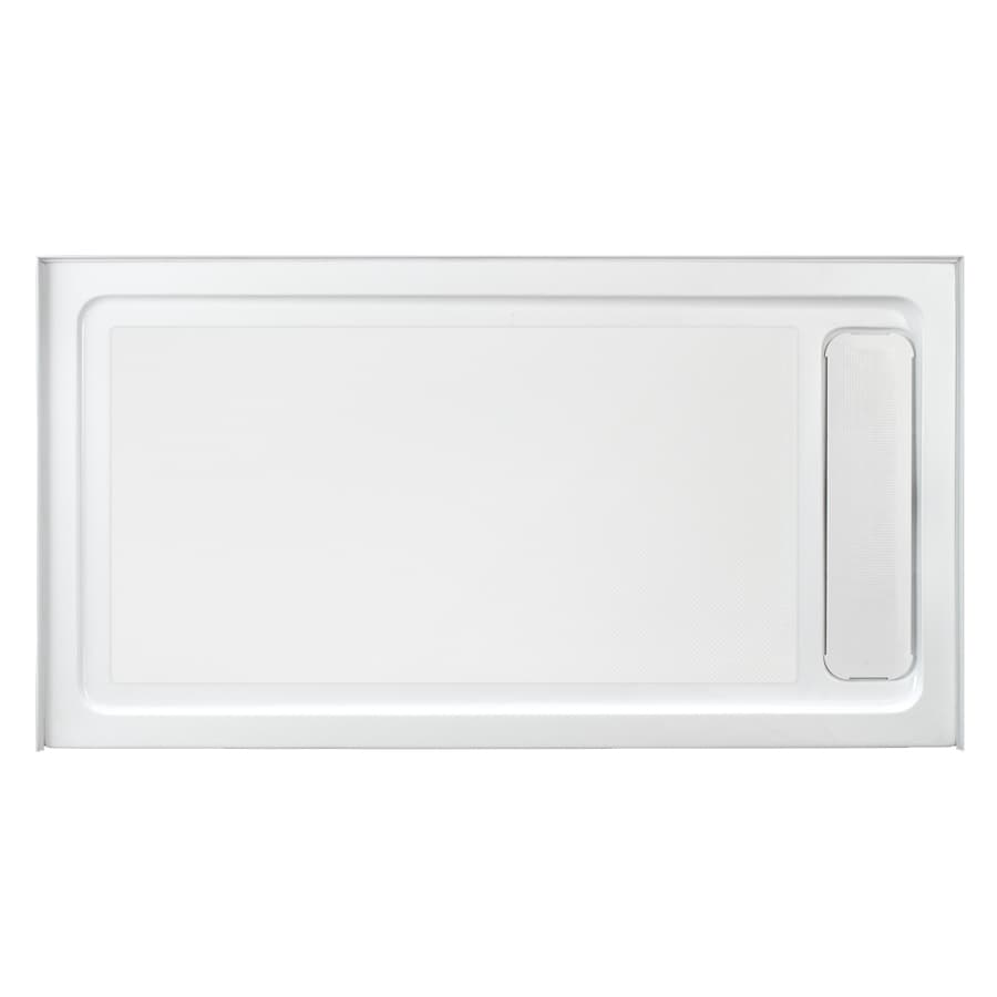 OVE Decors White Acrylic Shower Base (Common: 32-in W x 60-in L; Actual: 32-in W x 60-in L)