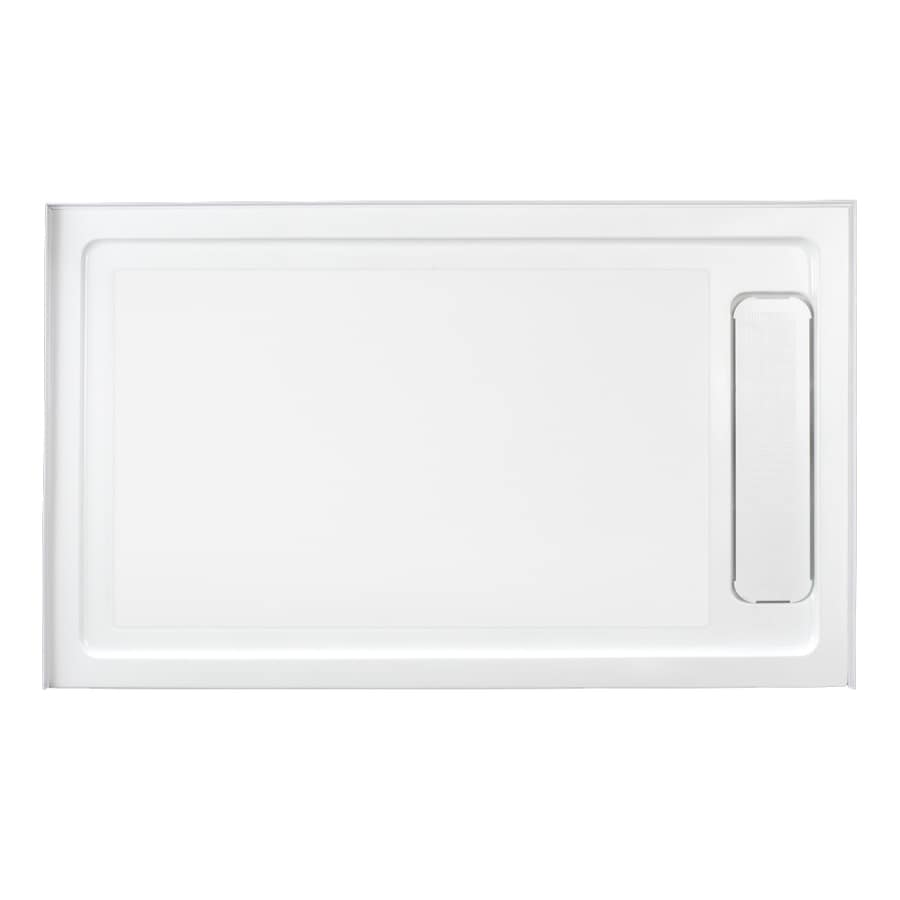OVE Decors White Acrylic Shower Base (Common: 36-in W x 60-in L; Actual: 36.0-in W x 60.0-in L)