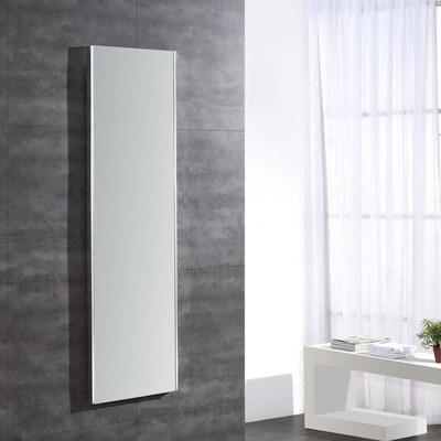 Ove Decors Zuma 16.5 In Aluminum Rectangular Lighted Led Bathroom Mirror by Lowe's