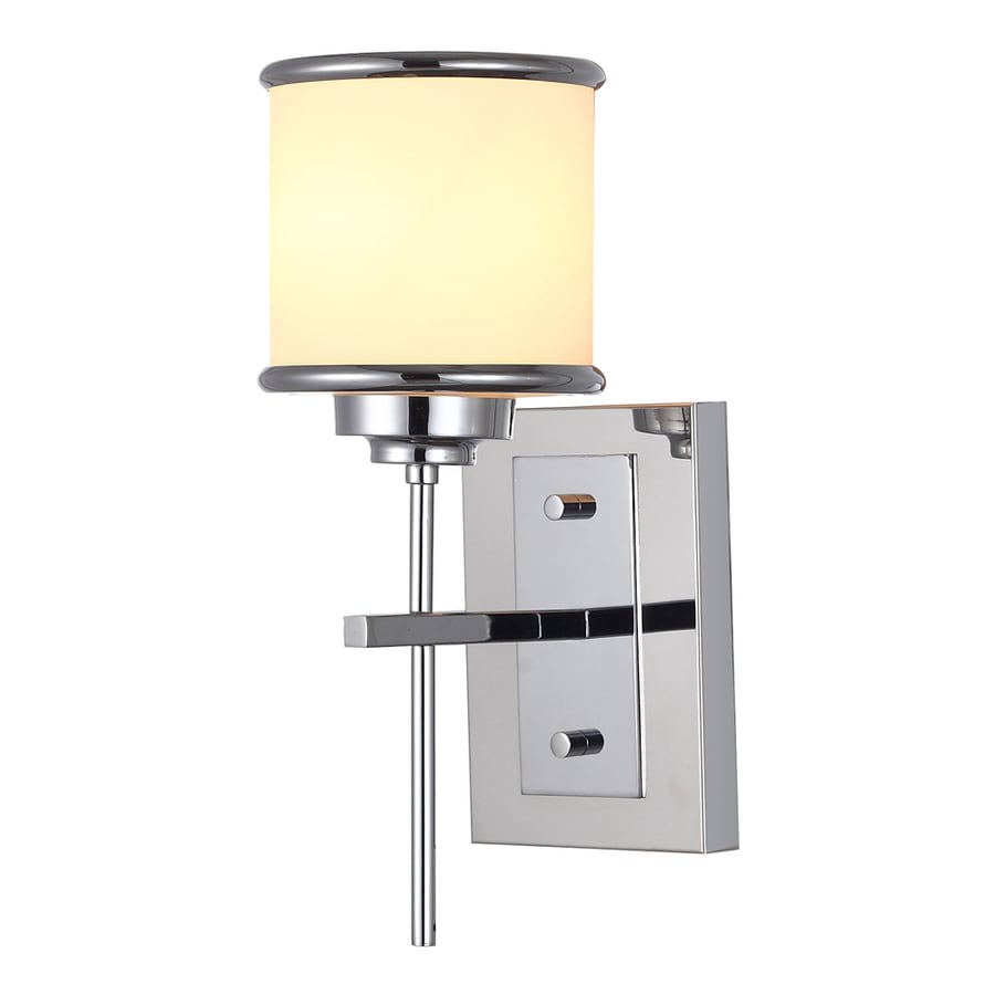 OVE Decors Max 5.12-in W 1-Light Chrome Candle Wall Sconce
