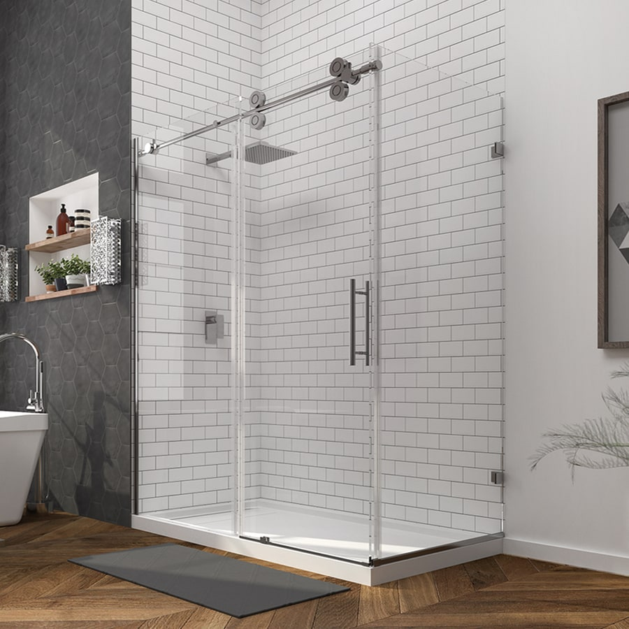 Ove Decors Sydney 78 75 In H X 30 25 In W Shower Glass