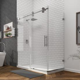 ove decors sydney 7875in h x 3025in w shower glass panel