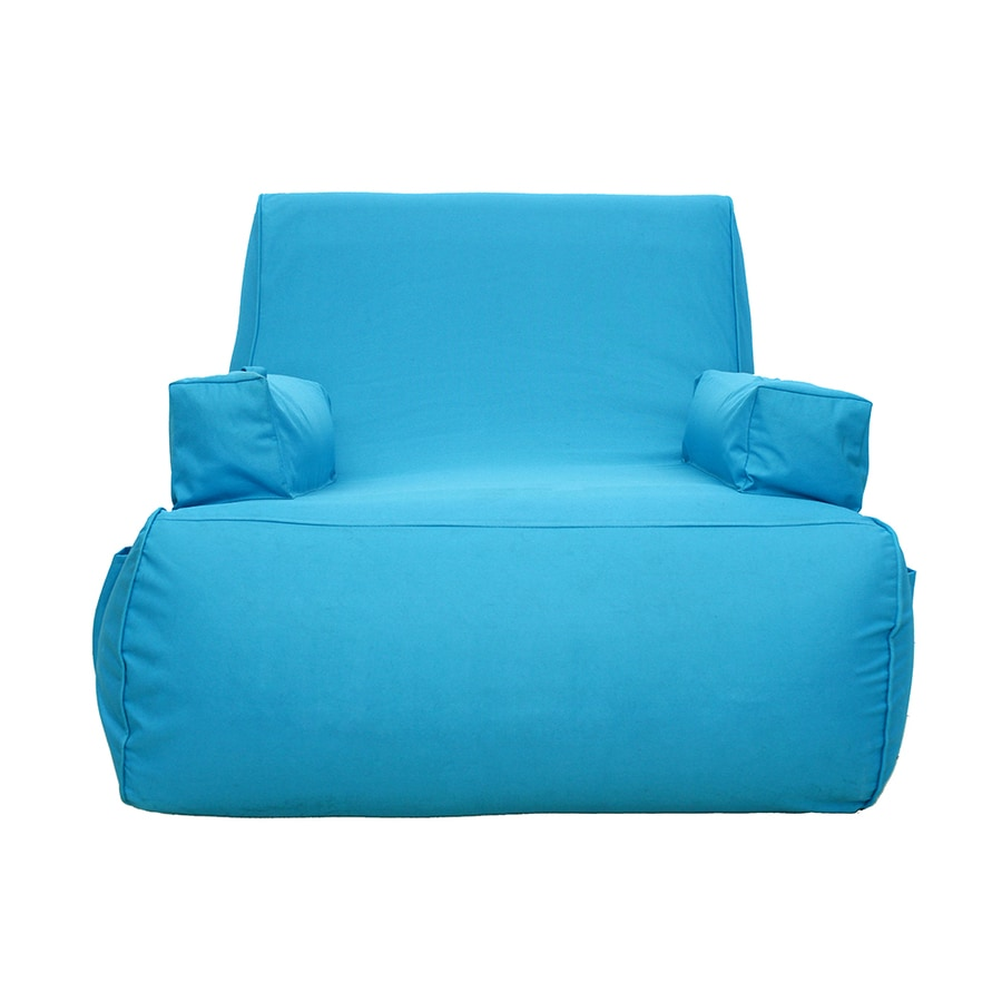 Shop Ove Decors Miami 1 Seat Blue Inflatable Lounger At