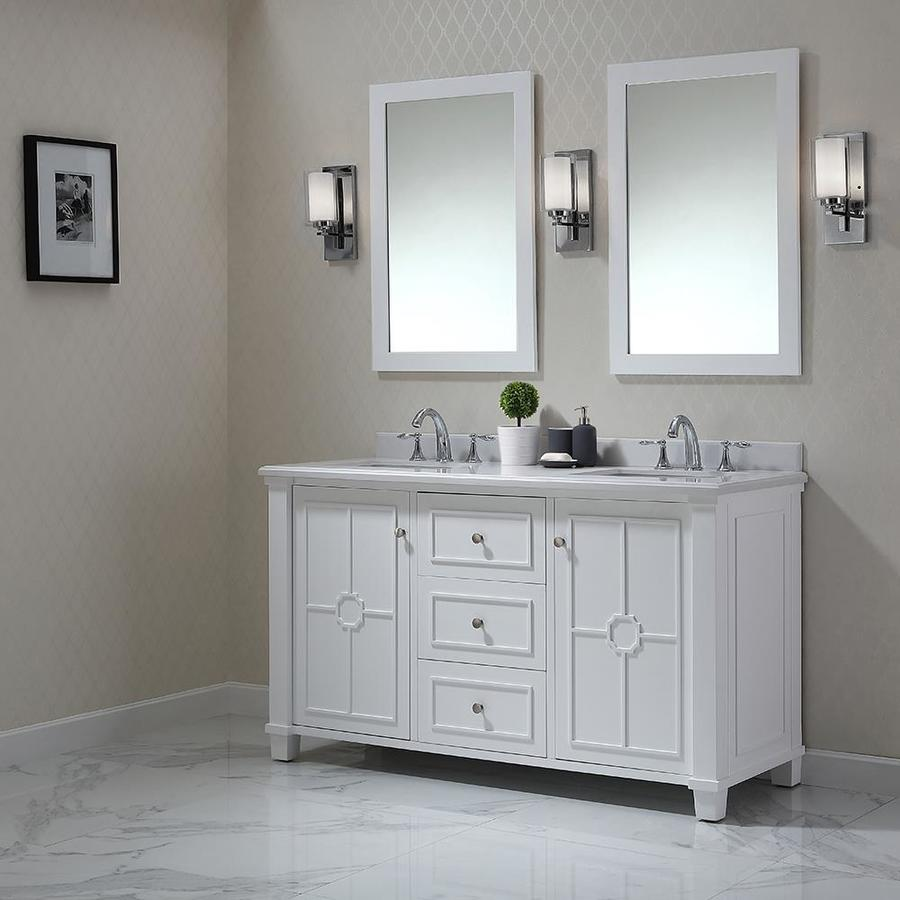 Shop Ove Decors Positano White Undermount Double Sink