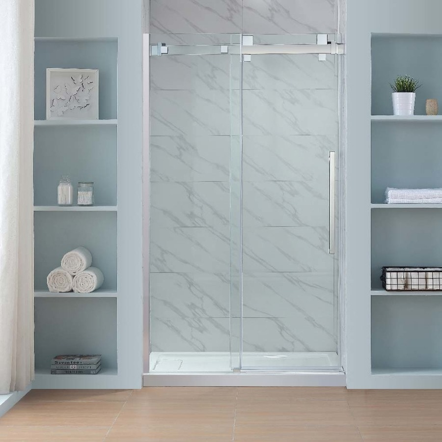 Shop OVE Decors Glendale 46.25-in to 47.625-in W Frameless Polished ...