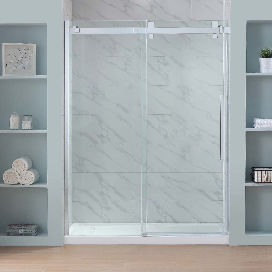 Shop OVE Decors Glendale 58.25-in to 59.25-in W Frameless Polished ...
