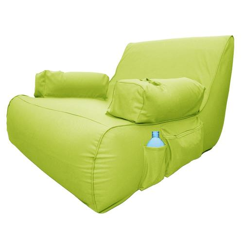 Peachy Ove Decors Miami 1 Seat Yellow Inflatable Lounger At Lowes Com Pabps2019 Chair Design Images Pabps2019Com
