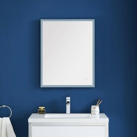 Black Bathroom Mirrors At Lowes Com