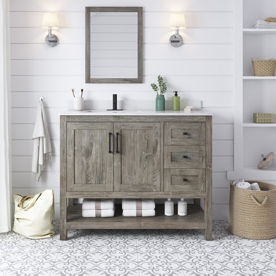 Charles Bathroom Vanities With Tops At Lowes Com