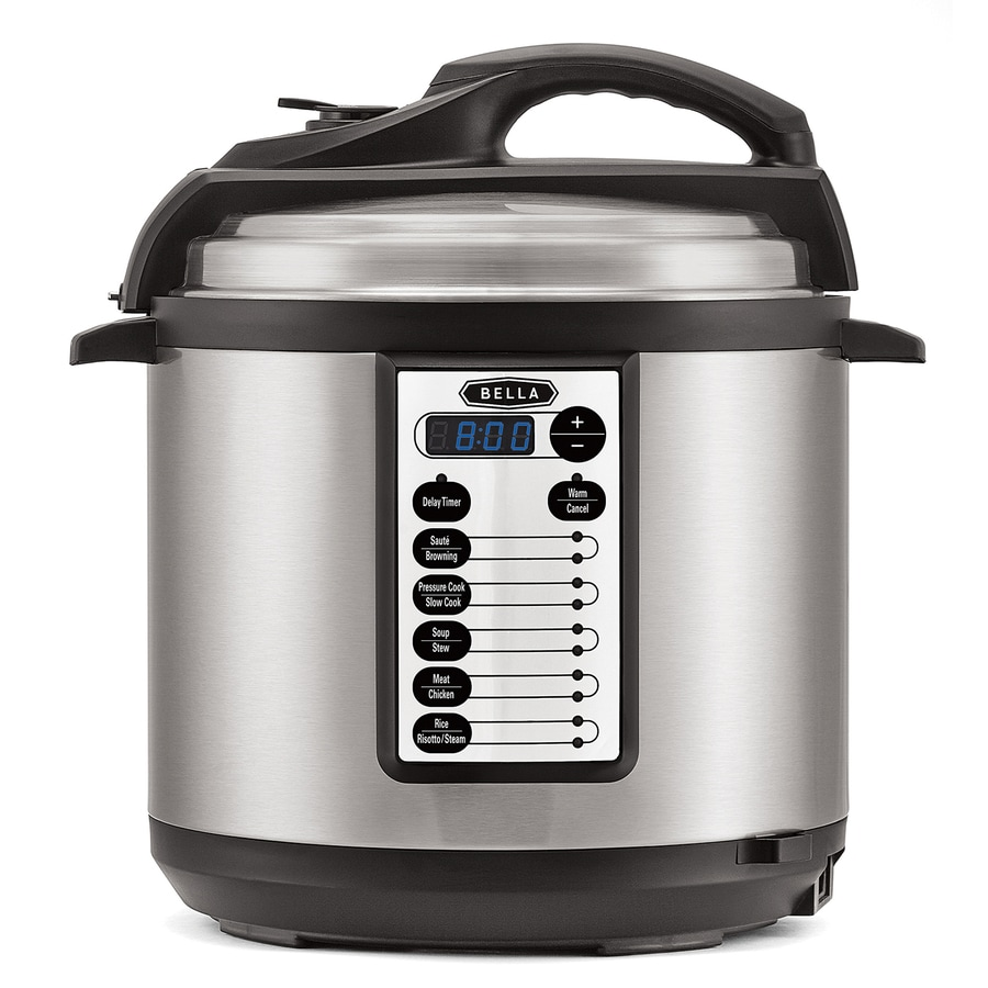 Electric Pressure Cooker ~ Shop bella quart programmable electric pressure cooker