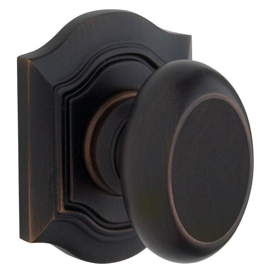 Baldwin Bethpage Oil Rubbed Bronze Dummy Door
