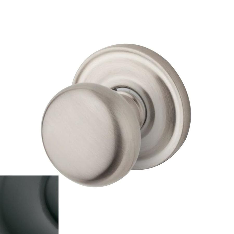 Shop Baldwin Estate Classic Oil Rubbed Bronze Passage Door Knob Single Pack At
