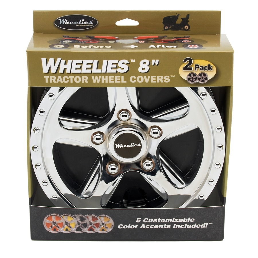 Lawn Mower Wheel Hubcaps : Shop good vibrations in tractor wheel cover at lowes