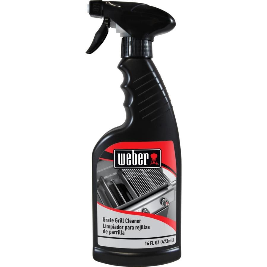 Weber 16 fl oz Grill Grate/Grid Cleaner Liquid
