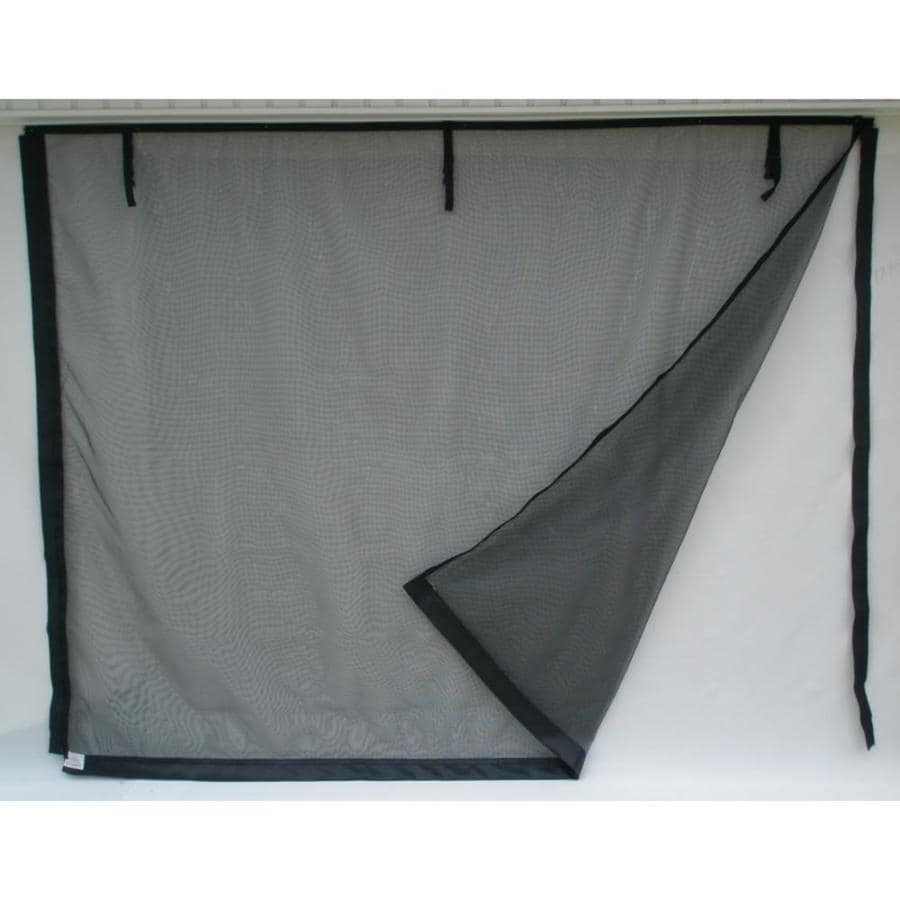 Fresh Air Screens Model C 9-ft x 8-ft Zipper Single Garage Door  sc 1 st  Loweu0027s & Shop Fresh Air Screens Model C 9-ft x 8-ft Zipper Single Garage Door ...